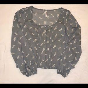 Mudd blouse size S
